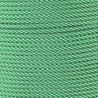 Paracord Typ 3 white / kelly green cc