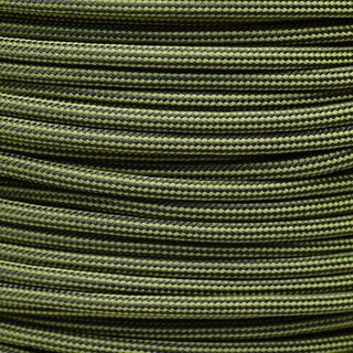 Paracord Typ 3 moss black stripe