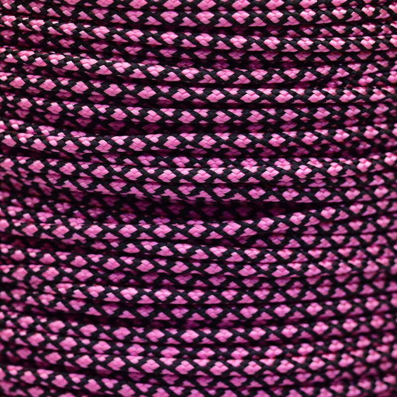 Paracord Typ 2 rose pink diamonds