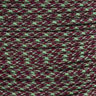 Paracord Typ 3 burgundy mint camo