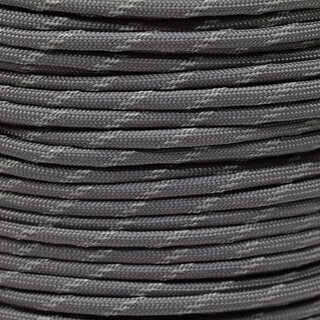 Paracord Typ 3 reflektierend charcoal grey