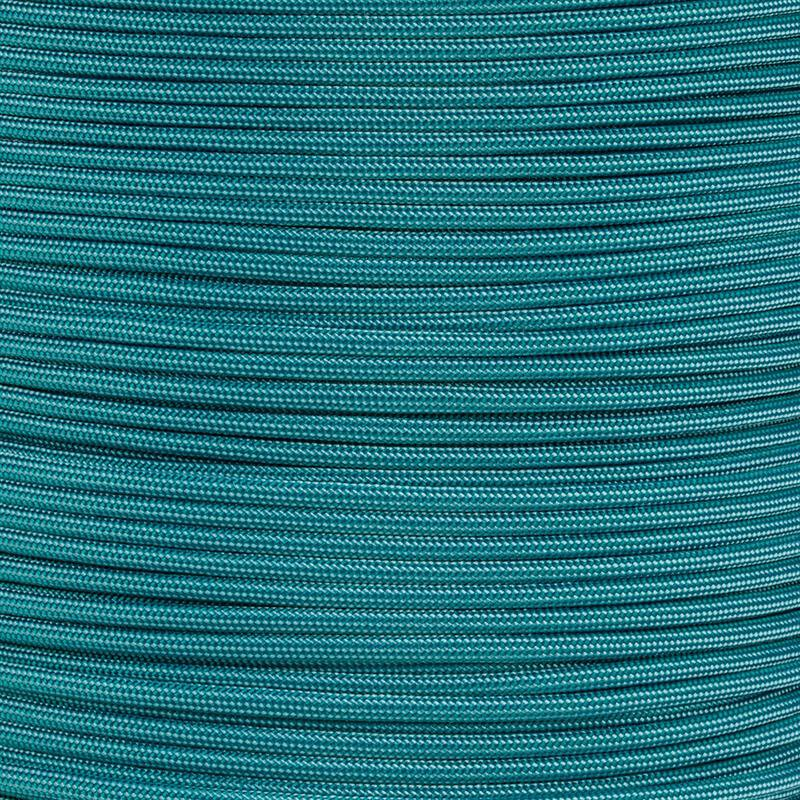 Paracord Typ 3 turquoise / teal stripe