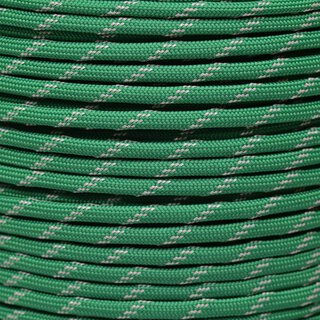 Paracord Typ 3 reflektierend kelly green