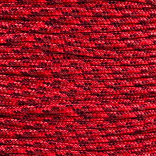 Paracord Typ 2 red blend