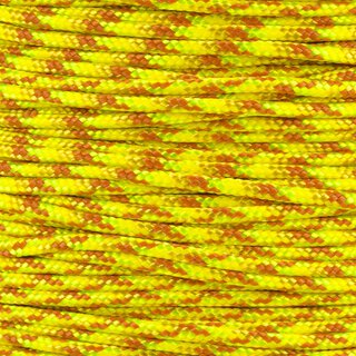 Paracord Typ 2 yellow blend