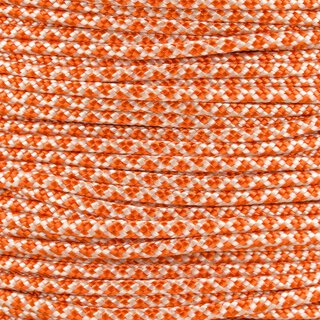 Paracord Typ 2 cream international orange diamonds
