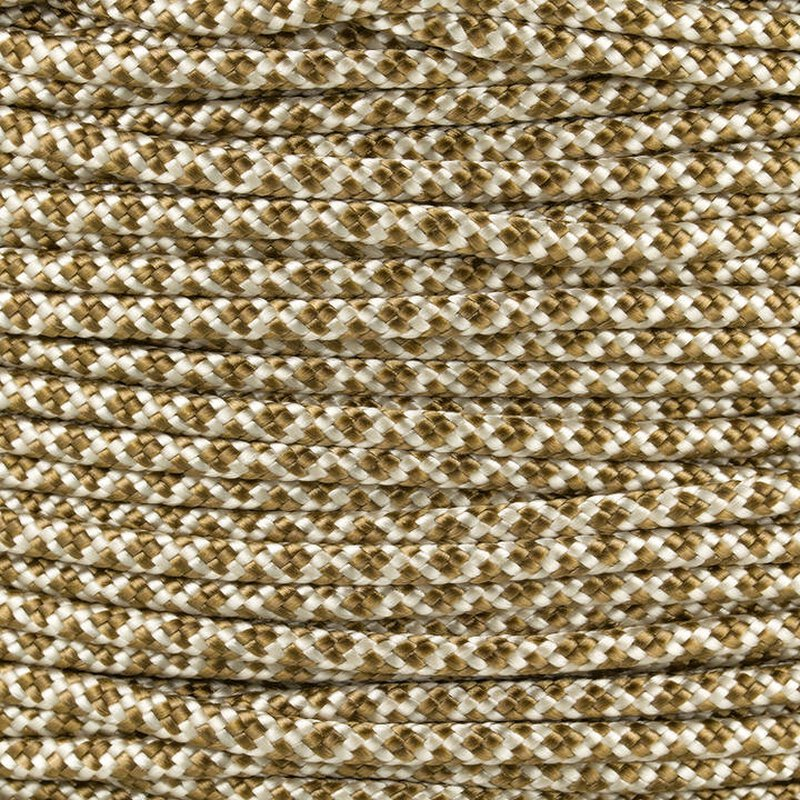 Paracord Typ 2 cream gold brown diamonds
