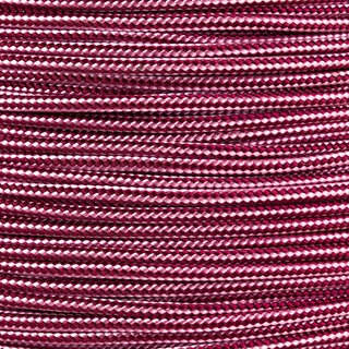 Paracord Typ 2 burgundy rose pink stripe