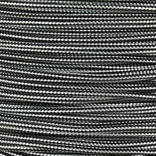 Paracord Typ 2 silver grey black stripe