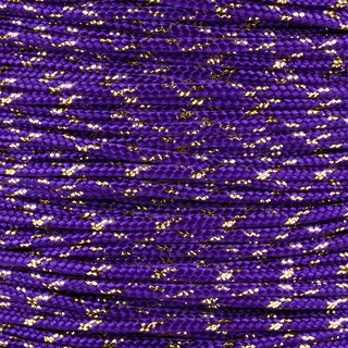Paracord Typ 2 acid purple / gold metal x