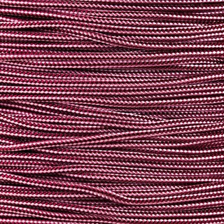 Paracord Typ 1 burgundy rose pink stripe