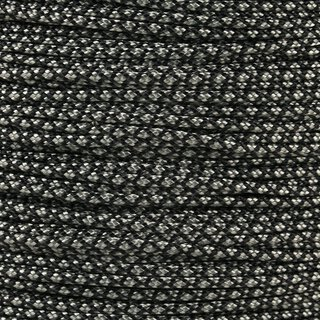Paracord Typ 1 charcoal grey diamonds