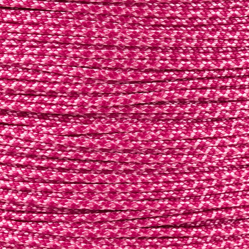 Paracord Typ 1 rose pink fuchsia diamonds