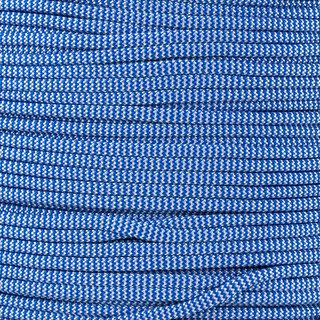Paracord Typ 3 royal blue white shockwave