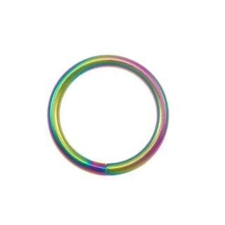 Rundringe Regenbogen O-Ringe 5 Stück 35mm