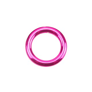 Stahl Rundring candy pink Ø16 mm