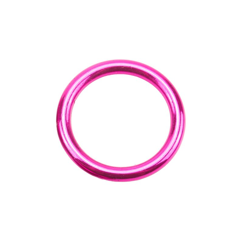 Stahl Rundring candy pink Ø20 mm