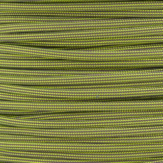 Paracord Typ 3 neon yellow lilac stripe
