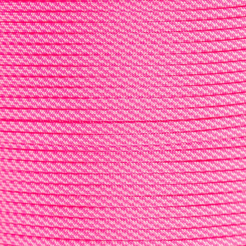 Paracord Typ 3 neon pink / rose pink cc