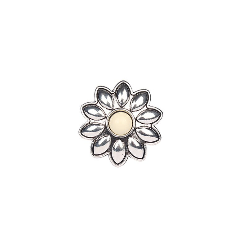 Concho m. Ring, Blume cream