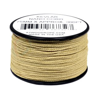 Nano Cord Kevlar 0.75mm yellow