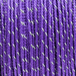 Micro Sport Cord 1.18mm reflektive purple