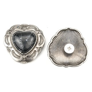 Concho Heart of Stone silber/schwarz