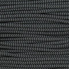 Paracord Typ 2 high reflective black shockwave