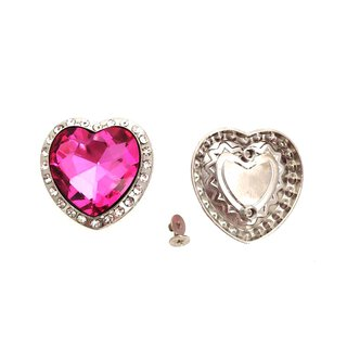 Concho Pink Heart