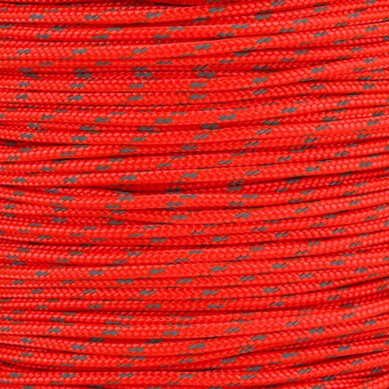 Paracord Typ 2 reflektierend neon orange