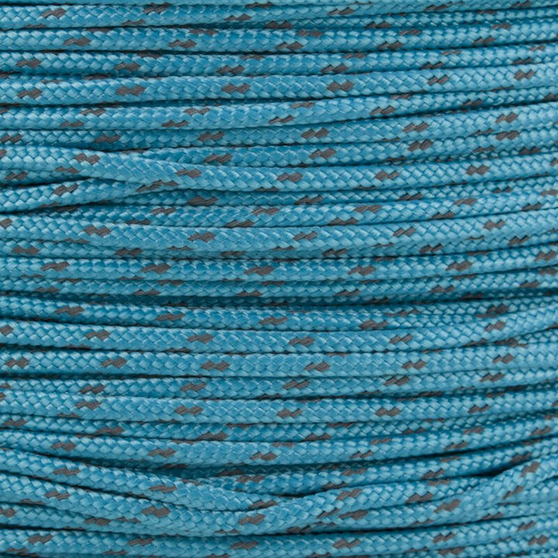 Paracord Typ 2 reflektierend neon turquoise