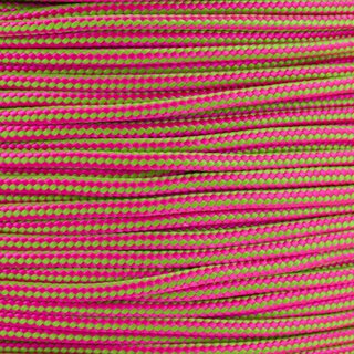 Paracord Typ 2 neon pink neon green stripe