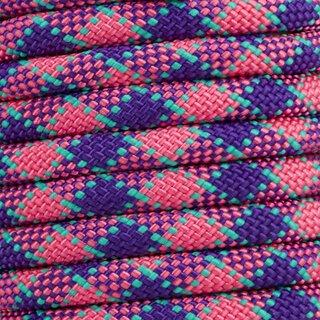 Premium - Polypropylen (PP) Seil 9.5mm pink & purple