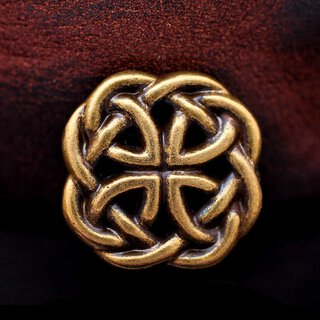 Concho Western Celtic Knot bronze