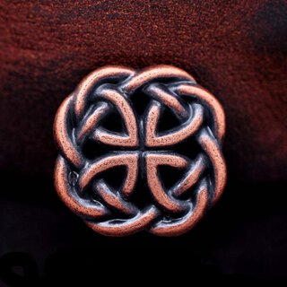 Concho Western Celtic Knot kupfer