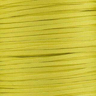 Paracord Typ 3 FLAT banana yellow