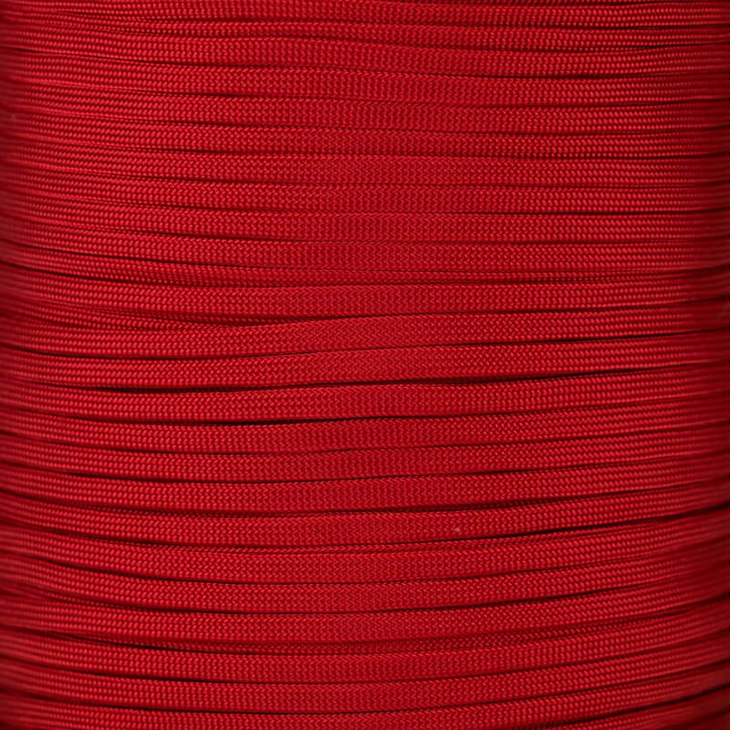 Paracord Typ 3 FLAT red chili